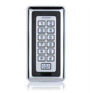 Id Card Access Machine Control Silver Metal Touch Access Controller Удостоверение пароля контроллер