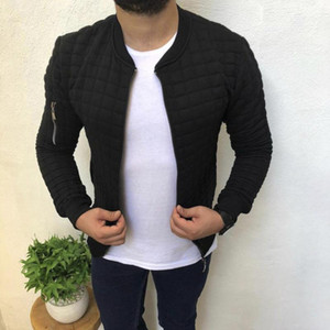Mens Jacket Outwear Europe And America New Style Hot Selling Slim Fit Casual Sports Jackets Mens Jacket Hoodie