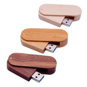 Rotate The Wood Usb Flash Drive3.0 Photography Wedding Gift Pen Drive Usb Stick 8GB 16GB 32GB 64GB Memory Stick Pendrive