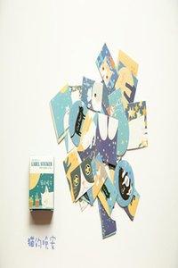 Скрапбукинг украшения Печать Канцелярские Diy счета Рука Kawaii 40 Tz53 бумаги Мультфильм Этикетка Дневник ПК Box наклейки Симпатичные наклейки FXJNn