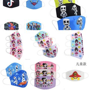 Cotton Ski Mask Kinder Mund Waschlappen Cartoon Jugend Kinder Masken für Kid Kotoia Mascarillas Bwkf Ghpgs joho546