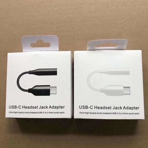 Type-C a 3.5mm Cavo adattatore USB 3.1 di tipo C maschio a 3,5 AUX audio Jack femminile per Samsung A60 A6S A80 Nota 10 con imballo