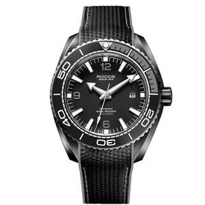 gli uomini di immersione orologio da polso, mens orologi sportivi Rocos uomo impermeabile automatico orologio meccanico relogio maschile