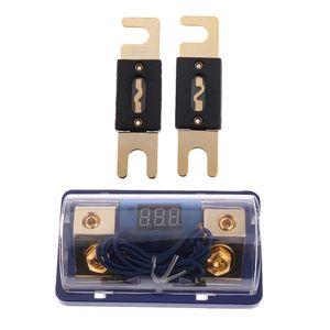 Alta calidad ANL Bloque 0 a 2 Gauge Fuse Holder gratuito con 2 fusibles