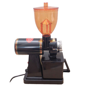110V and 220V to 240V black color coffee grinder machine coffee mill with plug adapter for home