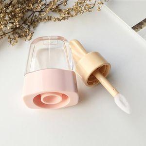 Bricolaje crema recargable vacío del lustre tarros transparentes 5pcs Lip Haga tubo recipientes de helado Herramienta cosmética Botella powerstore2012 Yxlan