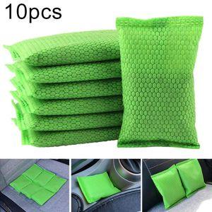 10 Ad Araba Nanometre Mineral Kristal Aktif Karbon Oda Parfümü Deodorant Ev Araba karbon torba hava temizleme torbaları aktive
