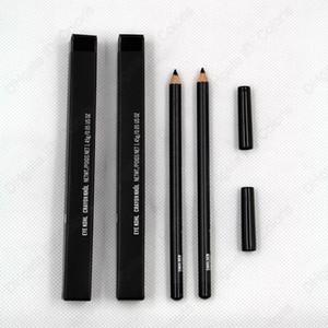 العين كول تلوين إحترق العين اينر قلم رصاص اللون الأسود مع صندوق سهلة لارتداء ماكياج مستحضرات التجميل الطبيعية قلم رصاص العين