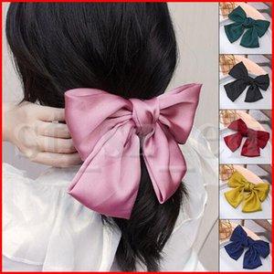 Frauen Big Bow Haarnadeln Süßes Haarspange elegante Streamer Retro Vintage Art-Haar-Pin-Zubehör für Mädchen