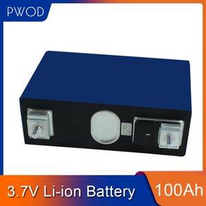 7PCS بطارية ليثيوم أيون 3.7V 100AH خلية لى لتخزين الطاقة الشمسية العاكس قافلة حزمة ديي 12V 24V 100AH الإلكترونية الدراجة