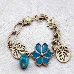Armband 2014 Art und Weise neu Reine Frische und Vertraglich Blumen aushöhlen Weibliche Hand Catenary alte Weisen wieder herstellt