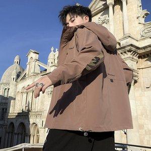 nouveau polyvalent élégant automne 2020 hommes hommes cargo veste veste nan Xiu xian beau mode de la rue 7lZ5y lâche