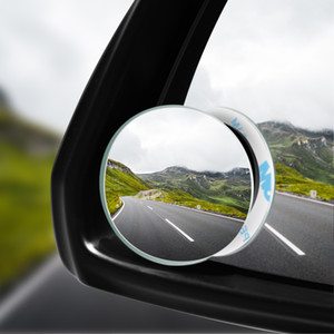 360-degree wide-angle round convex mirror vehicle side blind spot wide-angle rearview mirror small round mirror