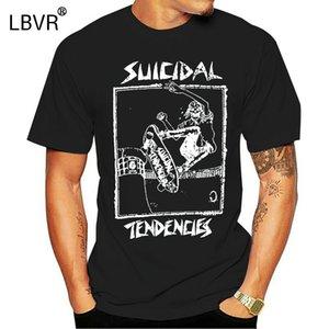 Suicidal Tendencies Oficial Lance Skater Limited Edition T-shirt Dogtown Punk Novos 2019 Mens T-Shirts Moda