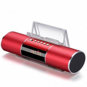 Modern Dijital Saatler FM Radyo, Bluetooth Hoparlör Taşınabilir Elektronik Saatler Erteleme Uyku Fonksiyonu Çalar Saat hka1 #