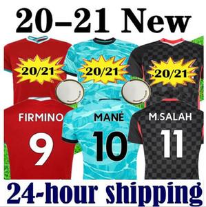 20 21 رجل جيرسي لكرة القدم 2020 2021 الجديد لكرة Liverpool  القدم البلوزات قميص مايوه دي القدم 20 21 camiseta دي فوتبول XXXL