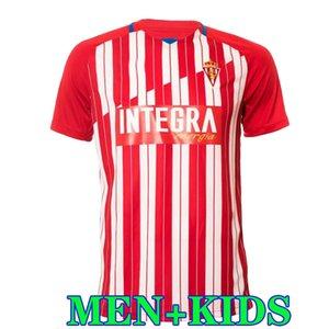 (20) (21) 스포츠 Gijon 축구 유니폼 GIJON 2020 2021 camiseta 드 푸 웃 마누 가르시아 Djurdjevic 토르 G. JS BABIN MEN KIDS 축구 셔츠