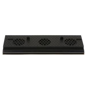 Xbox One X Oyun Konsolu Sunucu Radiator Fan Soğutma Dikey Taban Soğutucu Fan 3 USB Harici 3-Fan - Siyah