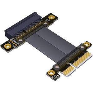 R22SF PCIe 3.0 x4 mâle à femelle câble d'extension PCI Express Gen3 mère Graphics SSD Extender Conversion Riser Card Câble
