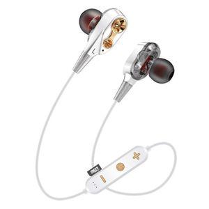 Новый G23 Беспроводная гарнитура с шумоподавлением Наушники-вкладыши с микрофоном Bluetooth V5.0 + EDR для всех тел шейным стерео наушники Спорт Earbuds