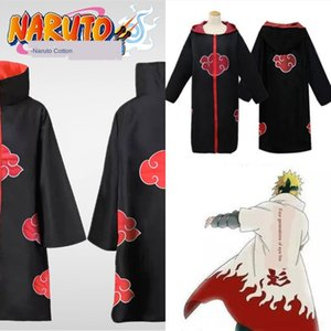 1cDAd Naruto xiaoorganizes anneau d'animation Wansheng festival tête robe Red Cloud cosplayclothing costume Cape de la couverture Play