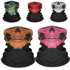 Máscara Máscaras Crânio Neoprene completa Halloween Costume face Motorbike bicicleta Ski Snowboard Sports # 689