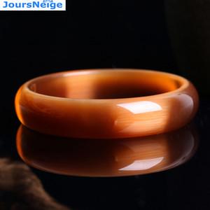 Echte Brown Natürliche Katzenauge-Stein Kristallarmbänder Frauen Glück süsses Geschenk Hilfe Ehe Kristall Armband Schmuck JoursNeige