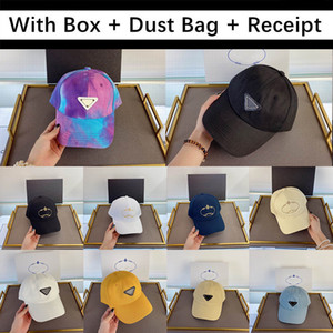 Top Quality With Box Dust Bag Receipt 2020 New Arrival Baseball Cap Mens Women Golf Embroidery Hat Snapback Sports Caps Sunscreen Hats