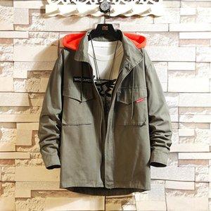 Style Print 2020 Spring Autumn Sport Outdoor Black White Jacket Men'S Streetwear Bomber Clothes Plus Asian Size M-5XL kg-173