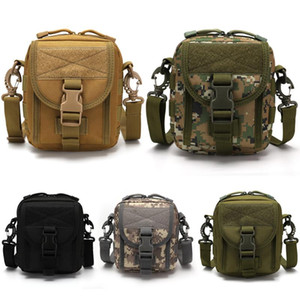 Tactical Holster Molle Bag Military Molle Waist Belt Bag Mobile Phone Wallet Pouch Travell Purse Outdoor Sports Messenger Bags