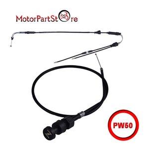 CEBADOR ASAMBLEA cables del acelerador PW50 PW 50 bici de la suciedad 1981-2010 Nueva D15