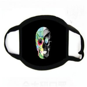 Hayvanlar Koruyucu Mout 2 9jzj E19 # 884 toz geçirmez 1 Cild Kış Fa Baskı Maskeler Mout-mufl Sevimli Kulak Den Maske