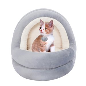High Quality Cat House Beds Kittens Pet Cats Sofa Mats Cozy Bed Toy Dog for Small Kennel Home Cave Sleeping Nest ZM727
