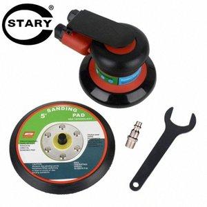 STARY Air Aleatório Orbital Palma Sander polidor de 125 milímetros 5inch Pad pneumático Power Tool Air Sander frete grátis Htar #