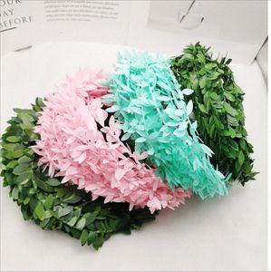 Cerimônia .5m Artificial Ivy Garland Folhagem Folhas Verdes Simulado Wedding Party Para Vine DIY Headbands 0KBQ #