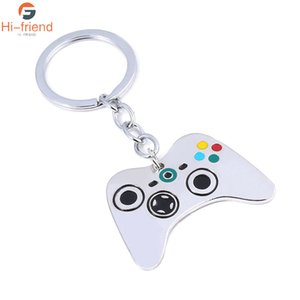 Video Game Controller Photo Keychain Geeky Boyfriend Gift Jewelry Glass Cabochon Dome Key Chain Ring
