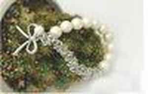 Cgjxs heißen verkaufenden neue Fashions Schöner Perlen-Bogen-New-Armband-Perlen-Armband-Bogen-Armband-freies Verschiffen mit Spurhaltungs-Zahl
