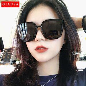 Occhiali da sole UV400 Vintage UV400 Occhiali da sole Occhiali da uomo Gatto Giausa Giausa Retro Occhiali da sole Occhio femminile Donna 2020 Drive Moda occhiali UQGLW