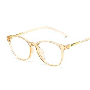 Glasses Eyewear For Clear Glasses Eye Glass Spectacles Lens Myopia Fake Frames Women Optical Computer Eyeglasses Transparent NNLQB