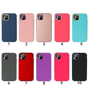 Armor Phone Case For Iphone 11 Pro Max 6 7 8 Plus XS MAX XR Samsung Note 10 Pro A10S M30S A2 CORE 3 in 1 Shockproof Hybrid TPU PC Back Cover
