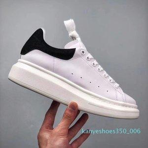 2019 Designer Scarpe moda di lusso delle donne Scarpe Uomo oversize Sneakers in pelle di vitello piattaforma Sole Casual Scarpe con box Lacci supplementari K06