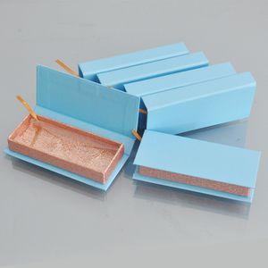 wholesale paper false eyelash packaging box lash boxes packaging custom logo label faux cils mink eyelashes rectangle paper case bulk vendor