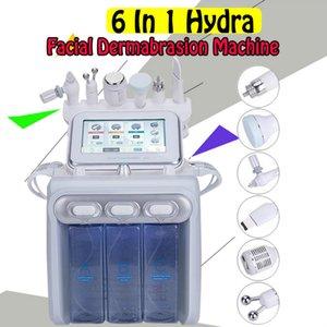 2020 heiße verkaufende Big Pump 6 in 1 H2O2 Gesicht Maschine H2O2 Aqua Wasser Hydrafacial kleinen Blase Sauerstoff Peel Skin Care-Dermabrasion Maschine