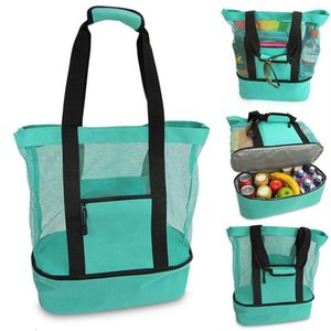 Outdoor Picnic Bags Beach Camping Ice Bag Multi-function large capacity Handbags Food preservation package travel Storage bags DHD633