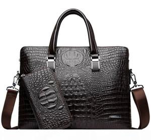 New Hot Sale Brand Briefcase Designer Men Laptop Bag Black Designer Handbag Business Men Laptop Bag Messenger Bag #d221