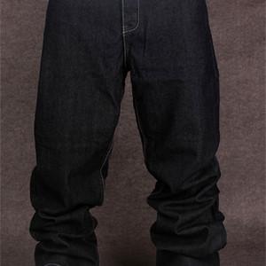 Men's Black Baggy Hip Hop Designer CHOLYL Brand Skateboard Pants loose Style True HipHop Rap Jeans Boy MX200814