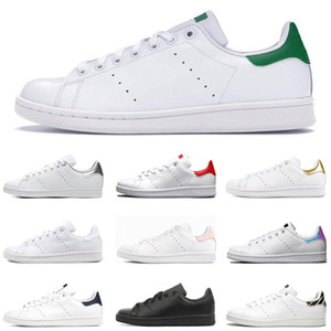 Adidas stan smith  femmes chaussures stan noir blanc rouge bleu argent rose baskets smith Casual chaussures leathe taille 36-44