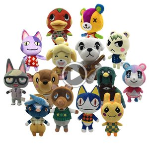21 cm Animal Crossing de juguete de felpa amiibo Mariscal animales raros retrocesos de Bob Marshal Puntadas Celeste Judy NFC regalo de los niños juguetes de peluche Cambiar NS Juegos