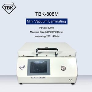 TBK-808M البسيطة LCD تعمل باللمس تجديد فراغ OCA آلة الترقق فقاعة إزالة حجم آلة التلقائي قفل الهواء الصغيرة