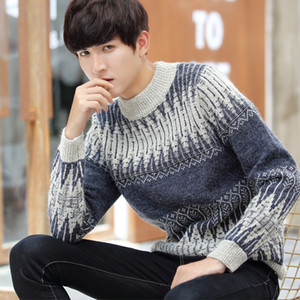 2020 Men's Sweater Winter High Quality Turtleneck Pullover Christmas Sweater Korean Fashion Casual Keep Warm Men Clothing M-3XL